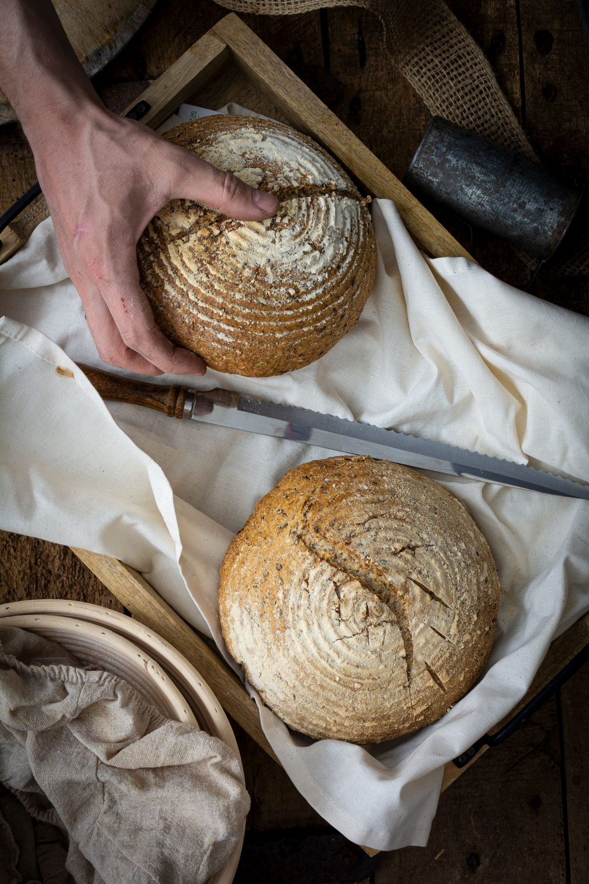 Brot Felix`Kochbook Foodfotografie aus Münster Portfolio