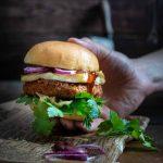 Vegetarischer Kidneybohnen Burger Rezept