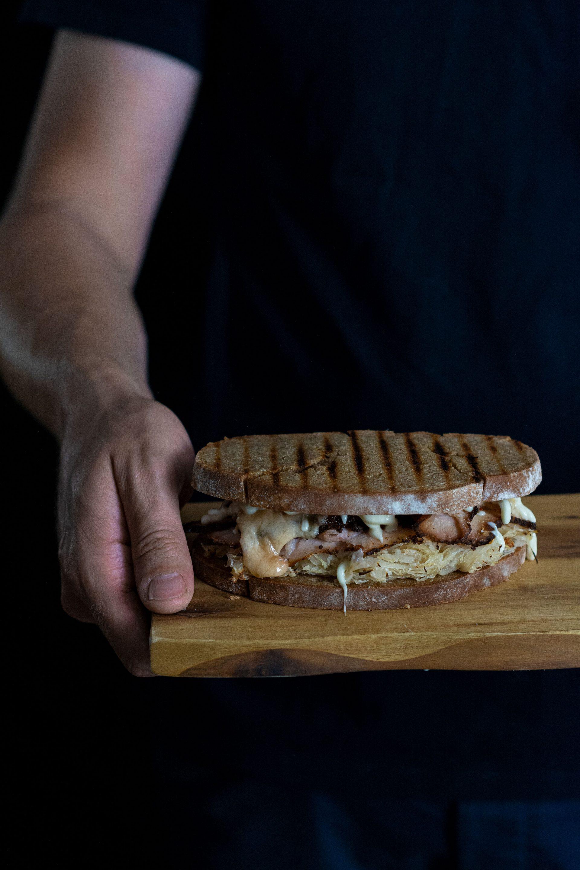 Sandwich Felix`Kochbook Foodfotografie aus Münster Portfolio