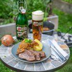 Zwiebelfleisch aus dem Dutch Oven Rezept mit Hövels Bier
