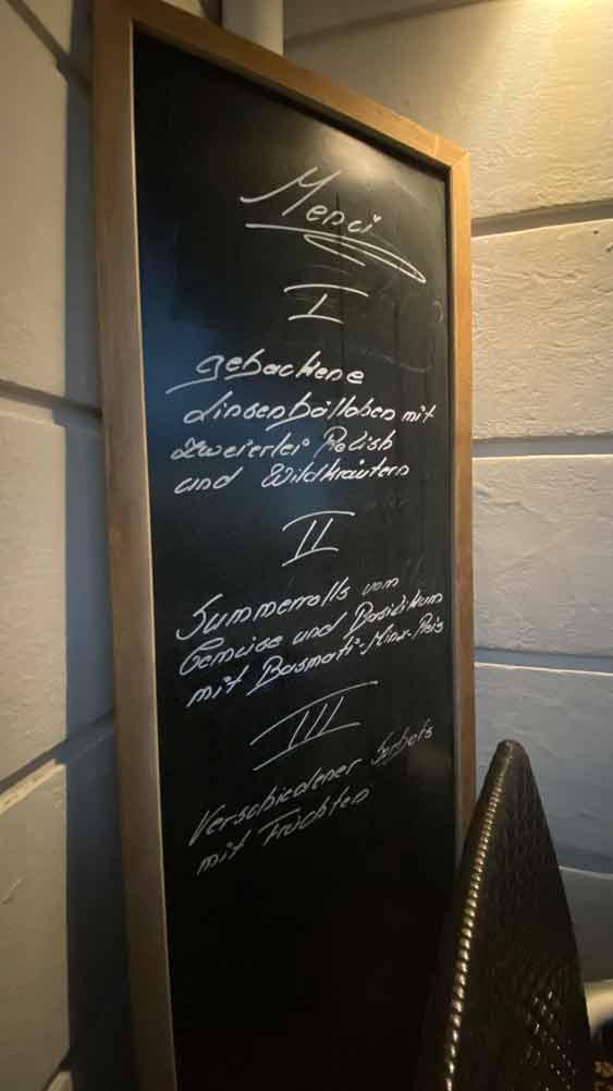 Landgard Inside- Ein Besuch in Bornheim das Matthieu`s Restaurant Menü